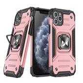 Pokrowiec Wozinsky Ring Armor pancerny różowy do Samsung Galaxy A71