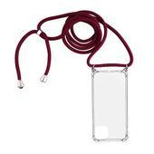 Pokrowiec Rope Case ze sznurkiem czerwony do Samsung A51 5G