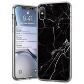 Pokrowiec silikonowy Marble marmur czarny do Samsung Galaxy S20 FE 5G