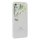 Pokrowiec silikonowy Telone Floral wzór Jasmine do Samsung Galaxy A80