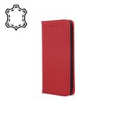 Pokrowiec skórzany Smart Pro do Samsung A80 / A90 bordowy do Samsung Galaxy A80