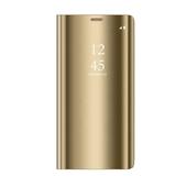 Pokrowiec Smart Clear View złoty do Huawei P30 Lite