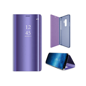 Pokrowiec Smart Clear View fioletowy do Samsung Galaxy A20e