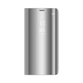 Pokrowiec Smart Clear View srebrny do Xiaomi Mi Note 10 Lite