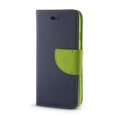 Pokrowiec Smart Fancy do Samsung A10 granatowo-zielony do Samsung Galaxy A10