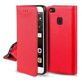 Pokrowiec smart magnet case czerwony do Samsung Galaxy M21