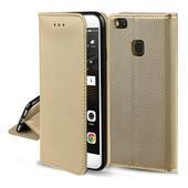 Pokrowiec smart magnet case złoty do Samsung Galaxy M21