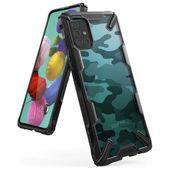 Ringke Fusion X Camo Czarne do Samsung Galaxy A51