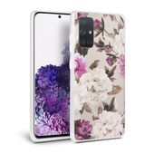 Tech-protect Floral Beżowe do Samsung Galaxy A51