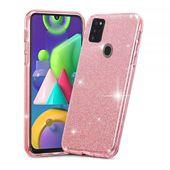 Tech-protect Glitter Shine Różowe do Samsung M21