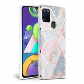Tech-protect Marble Galaxy M21 Różowe do Samsung M21