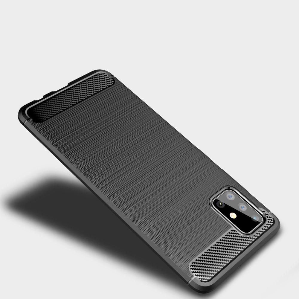 Tech-protect Tpucarbon Galaxy M31s Czarne Samsung M31s / 2